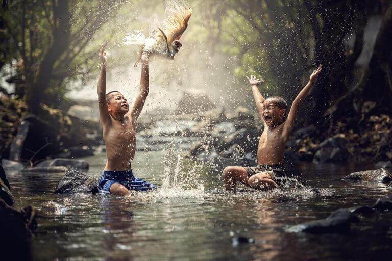 çocuklarda özgürlük