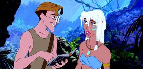 Atlantis Ve Disney Filmlerinde Kadınların Rolü