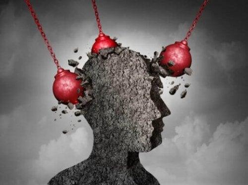 kafasından darbe alan bir yapı görseli