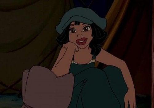 Atlantis filminden bir kadın karakter