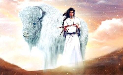 Beyaz Bufalo Kadını: Bir Kızılderili Efsanesi