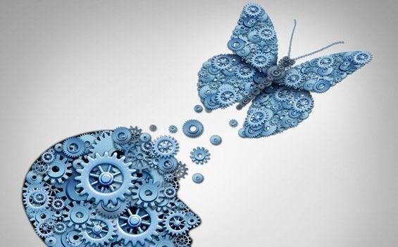 insan beyninden çıkan kelebek