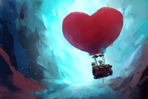 kalp şeklinde balon