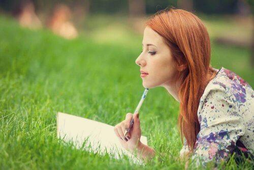 yazı yazarak meditasyon yapmak