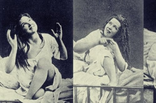 tarihten histerik kadın fotoğrafı