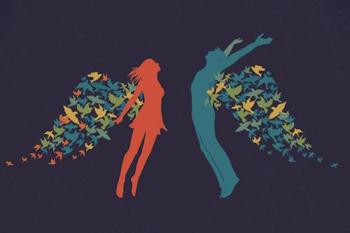 kanatlı çift