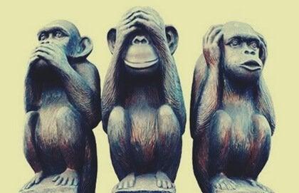 Mutlu Yaşamanıza Yardım Edecek Üç Bilge Maymun Metaforu