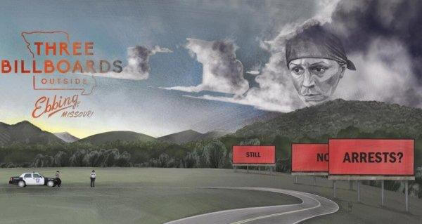 film posteri üç billboard