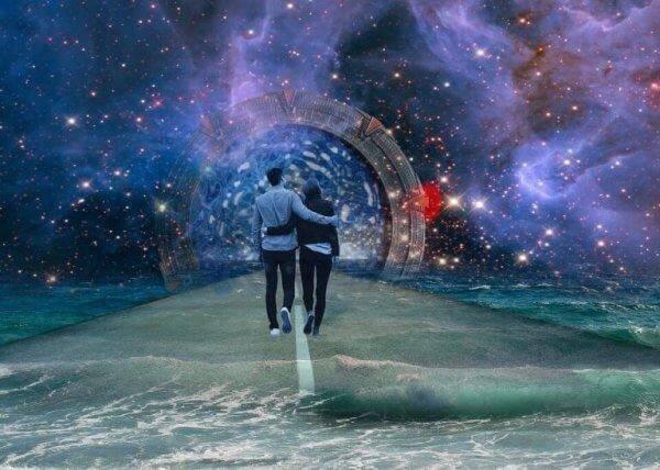 mutlu çift galakside