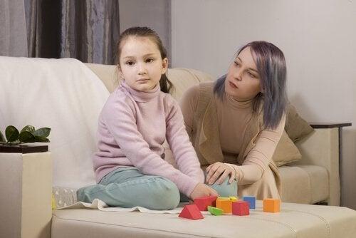 otistik çocuk annesi