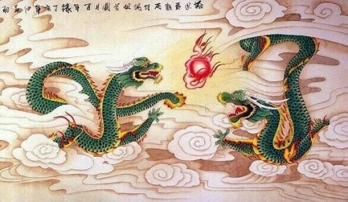 ejderhalarla ilgili çin masalı