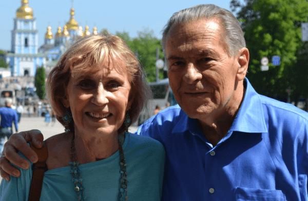 Christina Grof ve kocası