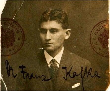 Franz Kafka üniversite fotoğrafı