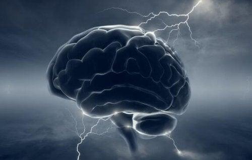 fırtınalı bulutlu beyin