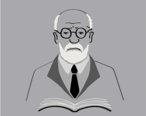 kitap okuyan freud