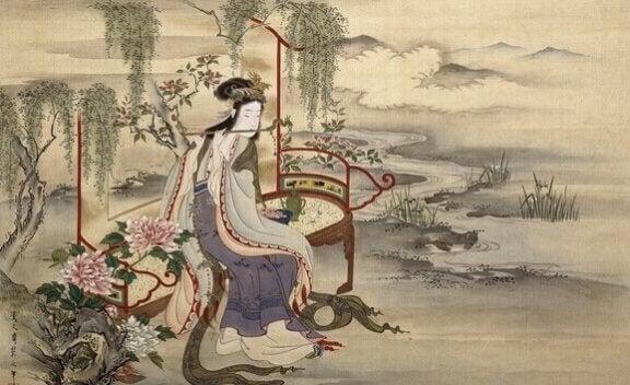 Orman Ruhlarının Dansı: Güzel Bir Japon Masalı