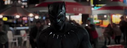 kara panter'den bir sahne
