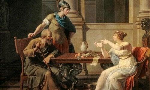 Sokrates ve karısı