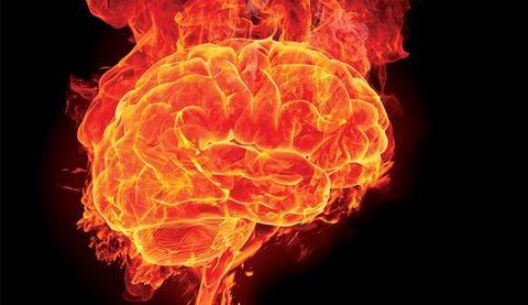 yanan beyin teorisi görseli