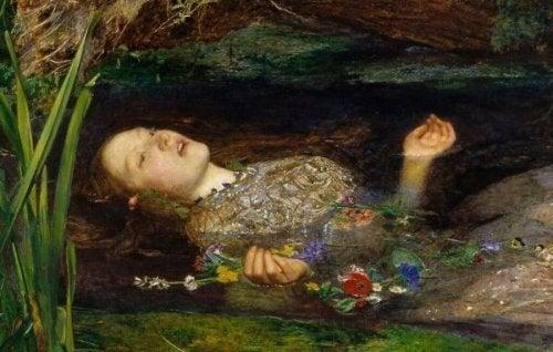 gölde ölü kadın