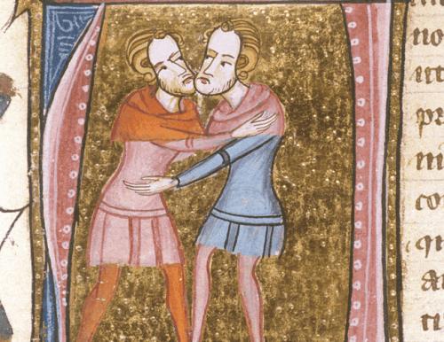sarılan iki erkek