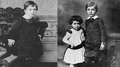 albert einstein'in çocukluk fotoğrafları