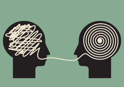 Mental iletişim halinde iki profil