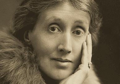 kameraya bakan Virginia Woolf portresi