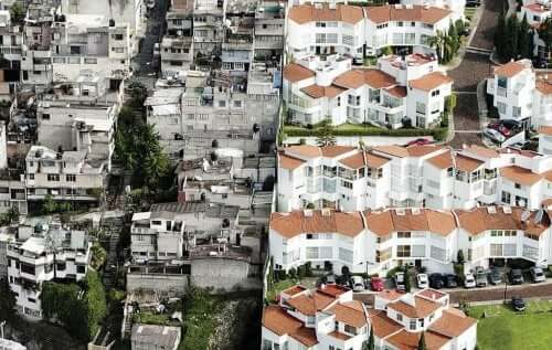 fakir ve zengin mahalleler