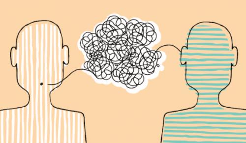 iki insan arasında iletişim ve kapıya ayak koyma tekniği