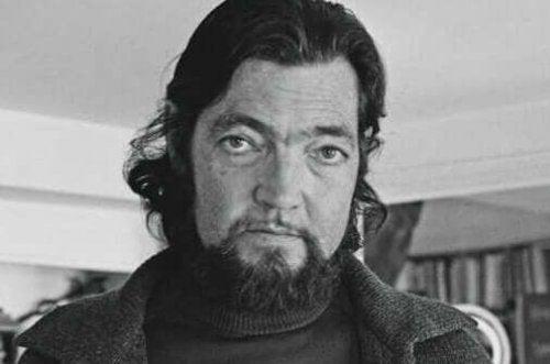 Julio Cortázar'ın fotoğrafı.