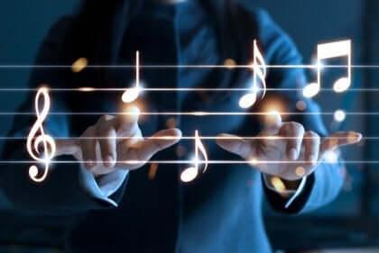Müzik terapisi ve notalar
