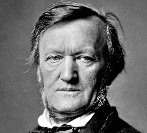 Richard Wagner'ın bir portresi.