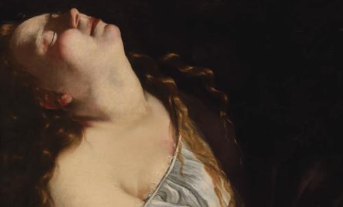 artemisia gentileschi kadın resmi
