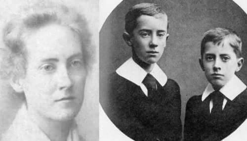 Tolkien'ın çocukluğundan fotoğraflar.