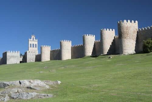 Avila kale duvarları.