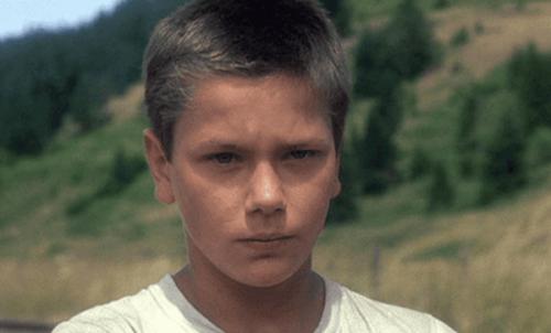 Benimle Kal (Stand By Me) filminden bir kare.