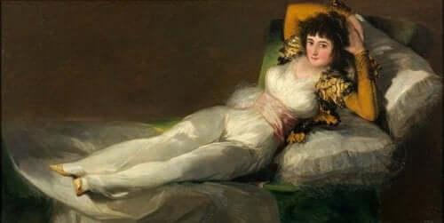 Francisco de goya kadın resmi