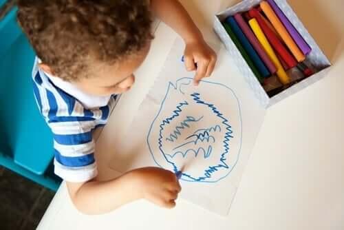 Karalama: Çocukların Gizli Dili