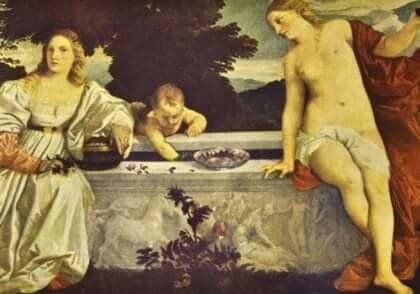 titian kadın resim