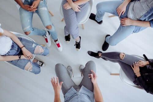 insan ayakları ve bütüncül psikoterapi
