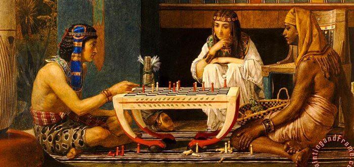 Ramses ve Musa satranç oynuyor