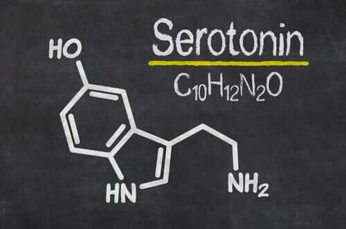 serotonin çizimi