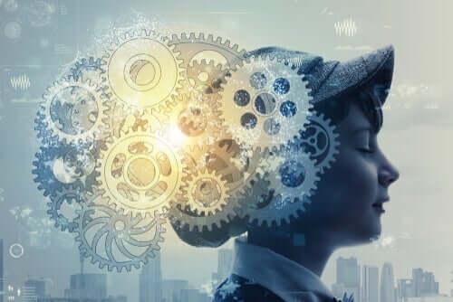 Bir çocuk beyni ve mekanizma