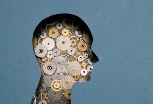 Zihnin mekanizmasını temsil eden bir illüstrasyon.