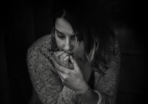 depresyon tanısı alan kadın