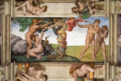 Bir Michelangelo tablosu.