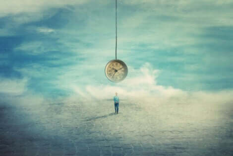 Hayal kuran adam ve saat