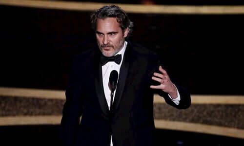 Joaquin Phoenix ve Oscar Konuşması