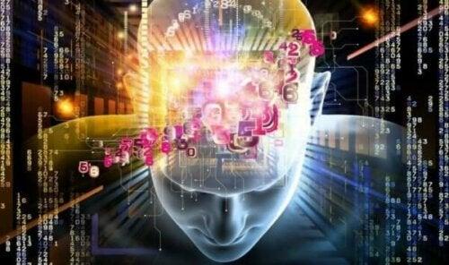 Kuantum fiziğini temsil eden bir illüstrasyon.